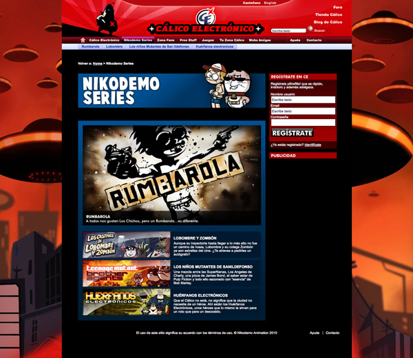 NIKODEMO  Web Design