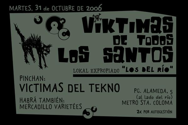 VICTIMAS DEL TEKNO Artwork