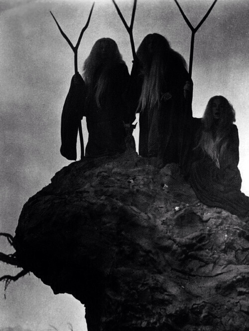 three witches in Macbeth